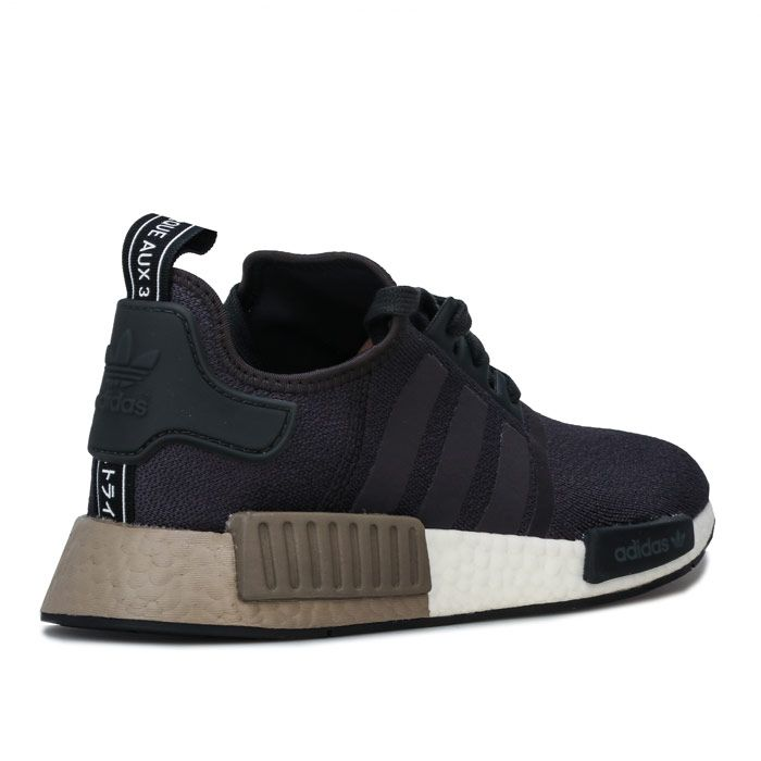 Men's adidas Originals NMD_R1 Trainers in Charcoal