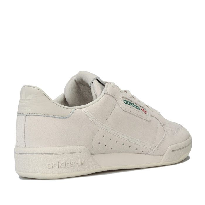 Men's adidas Originals Continental 80 Trainers in Off White