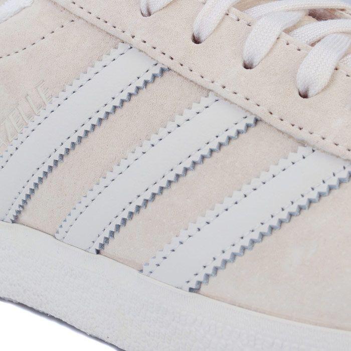adidas Originals Gazelle Trainers in Ecru