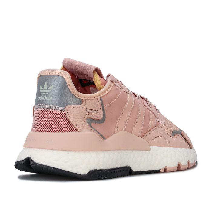 Women's adidas Originals Nite Jogger Trainers in Pink