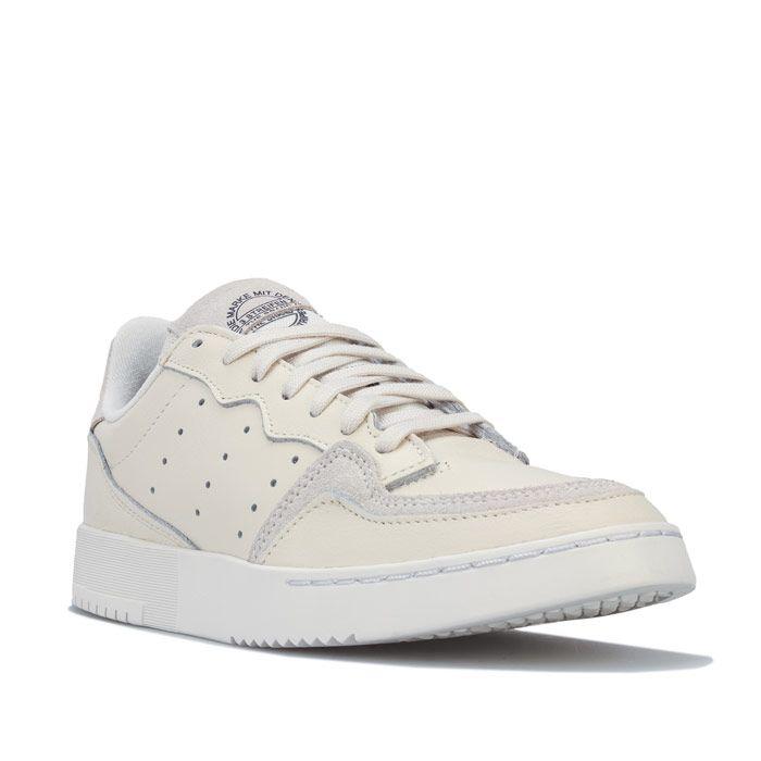 Women's adidas Originals Supercourt Trainers in Off White
