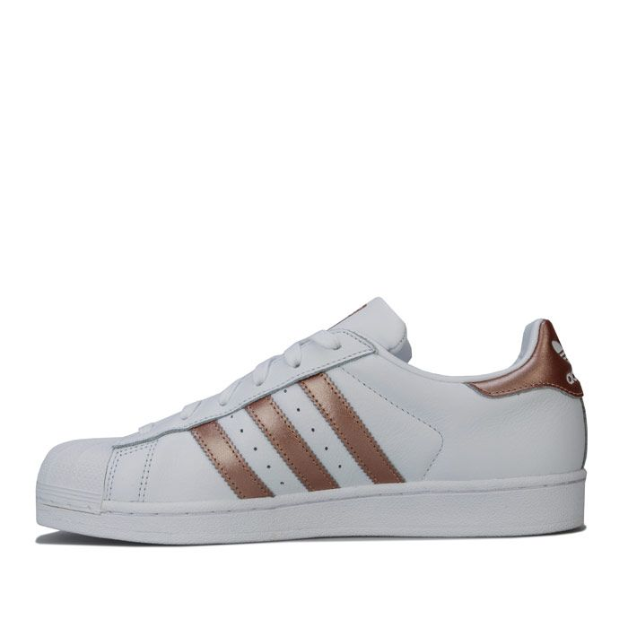 adidas Superstar Trainers in White
