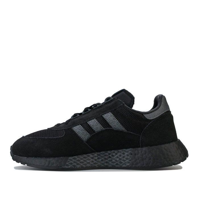 Men's adidas Originals Marathon Tech Trainers in Black