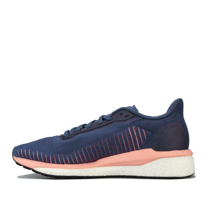 Women's adidas Solar Drive 19 Running Shoes in Dark Blue