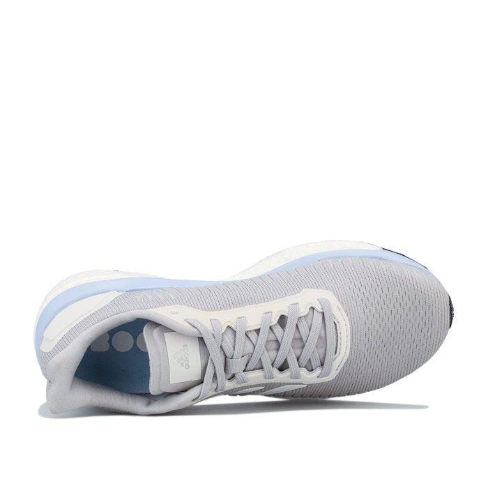 Women's adidas Solar Drive 19 Running Shoes in Light Grey
