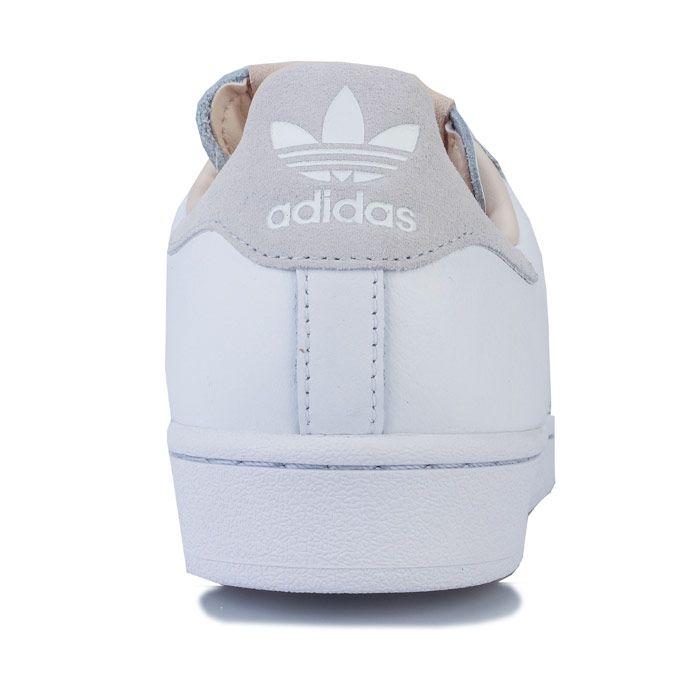 adidas Originals Superstar Trainers in White