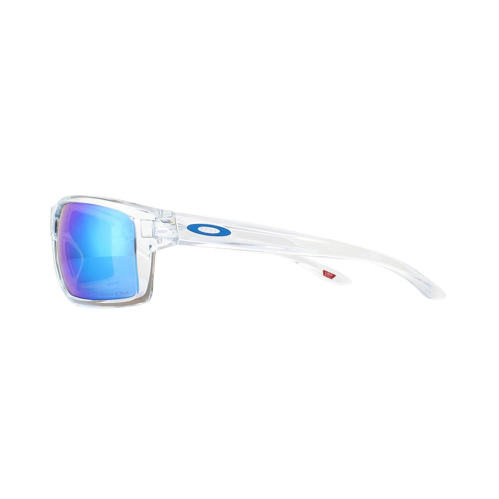 Oakley Sunglasses Gibston OO9449-04 Polished Clear Prizm Sapphire