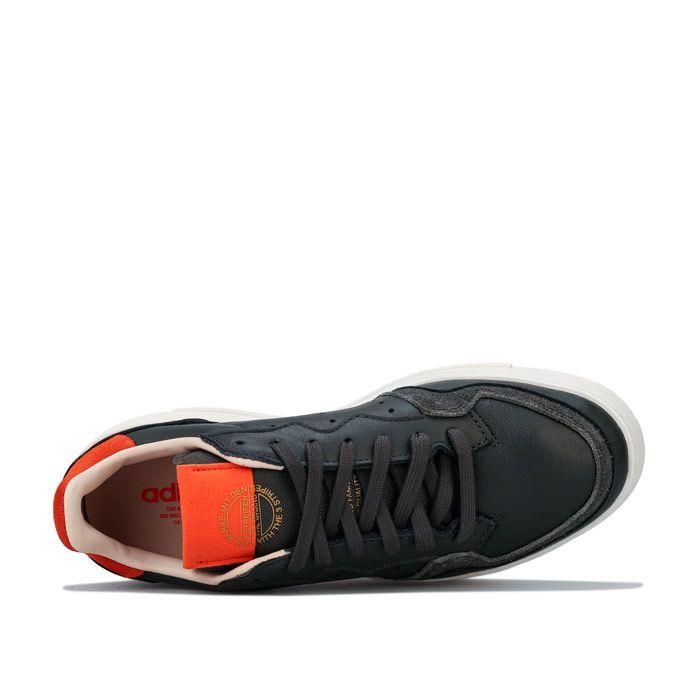 Men's adidas Originals Supercourt Trainers in Brown