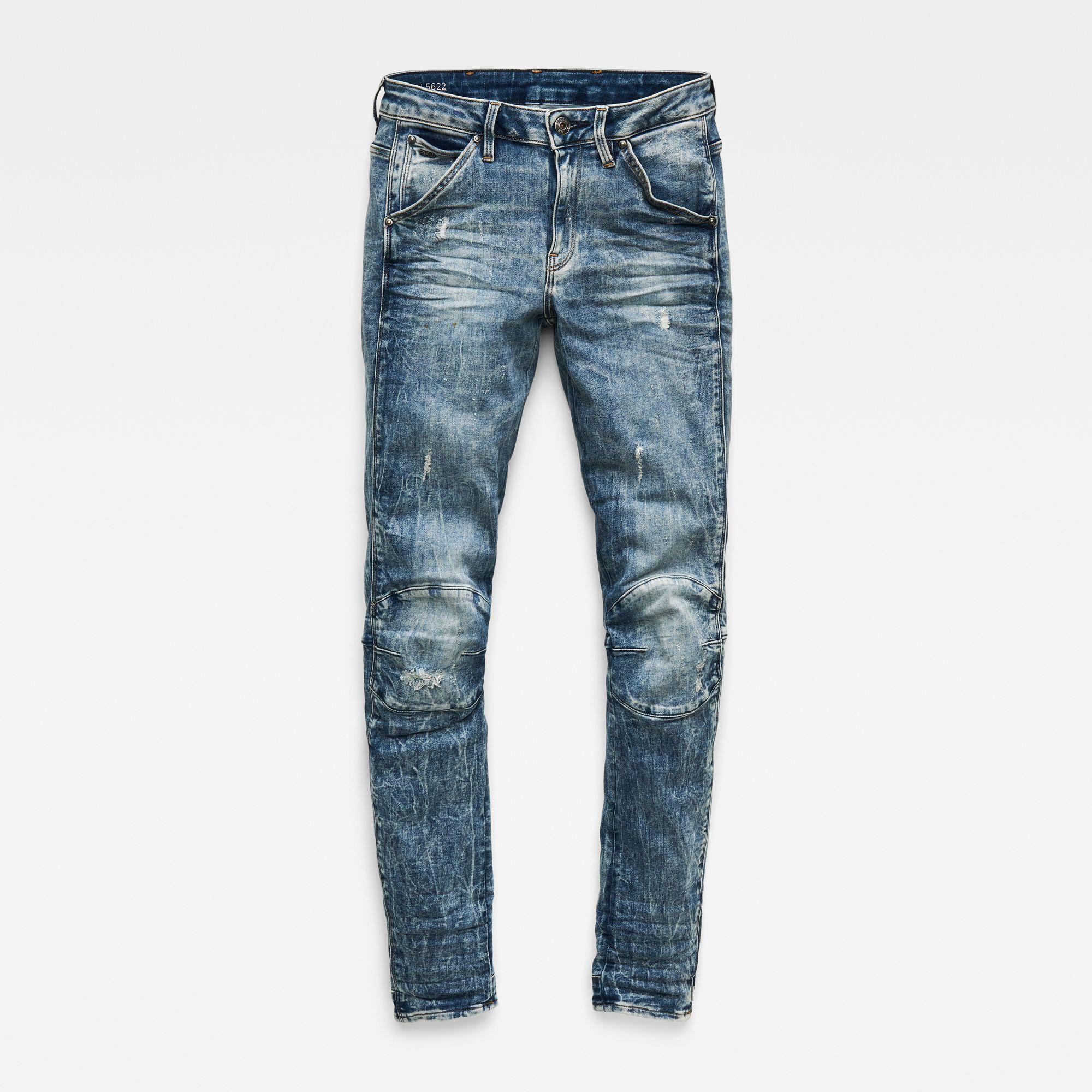 G-Star RAW 5622 Mid-Waist Skinny Jeans