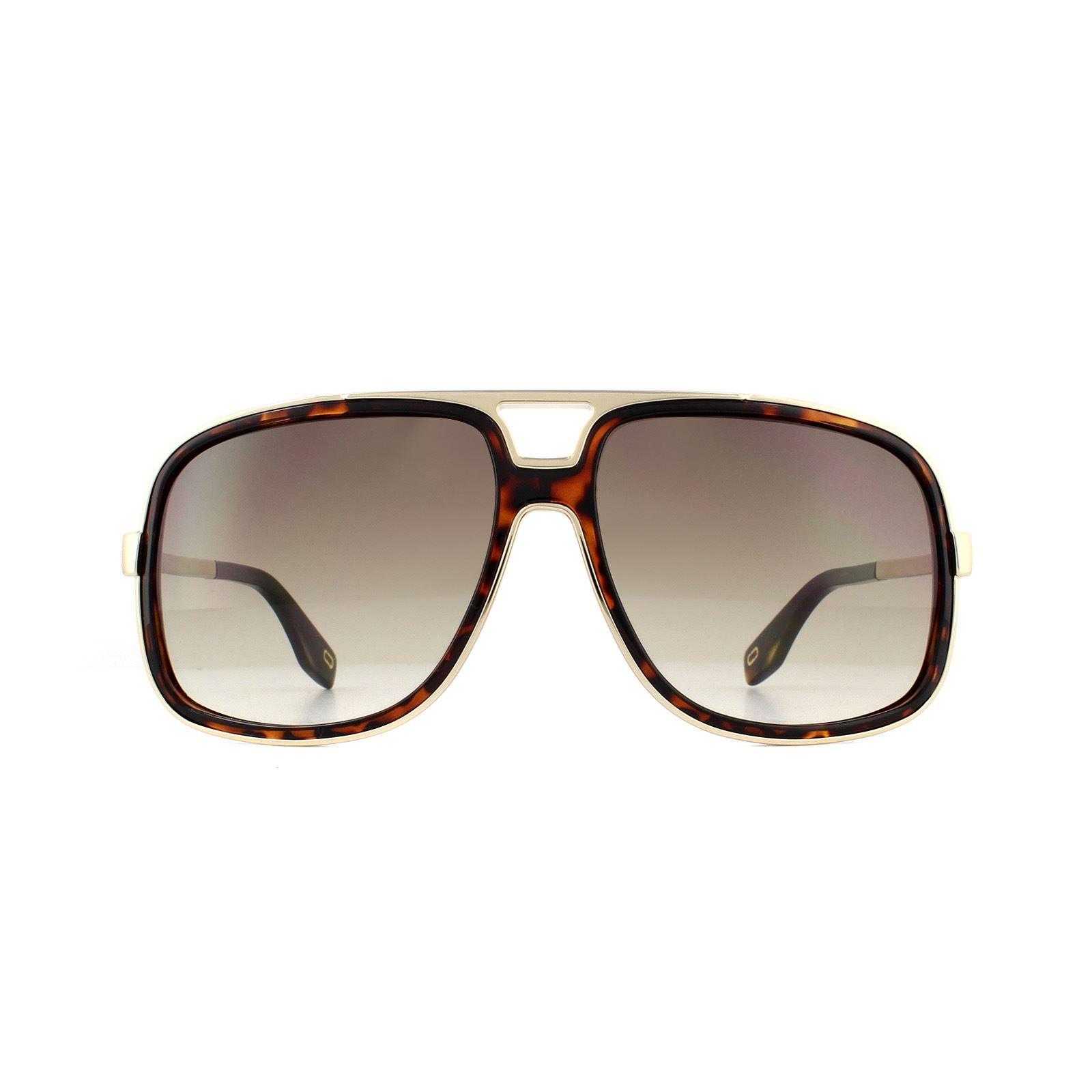 Marc Jacobs Sunglasses MARC 265/S 086 HA Dark Havana Brown Gradient