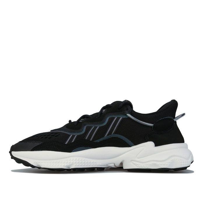 Men's adidas Originals Ozweego Trainers in Black