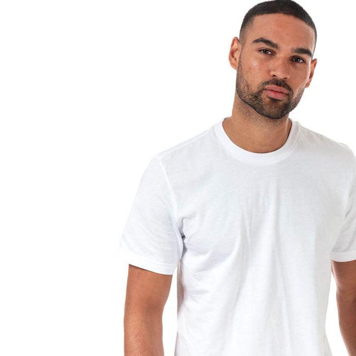 Men's adidas Digital Camo Logo T-Shirt in White Navy