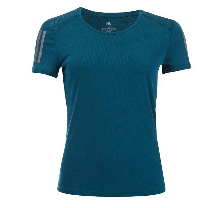 Women's adidas Own The Run T-Shirt in Blue
