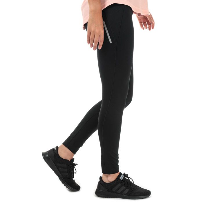Women's adidas Gear Up Climawarm Long Tights in Black