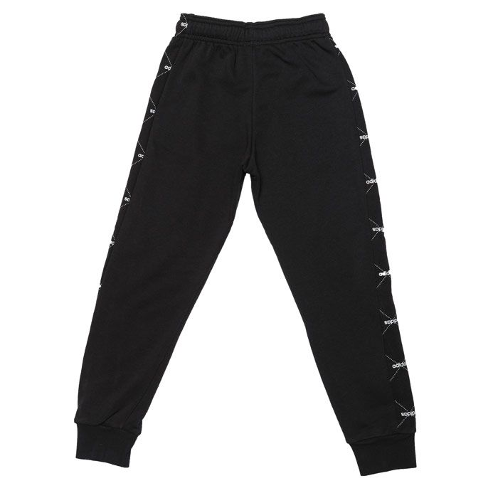 Boys' adidas Infant Motion Print Jog Pants in Black-White