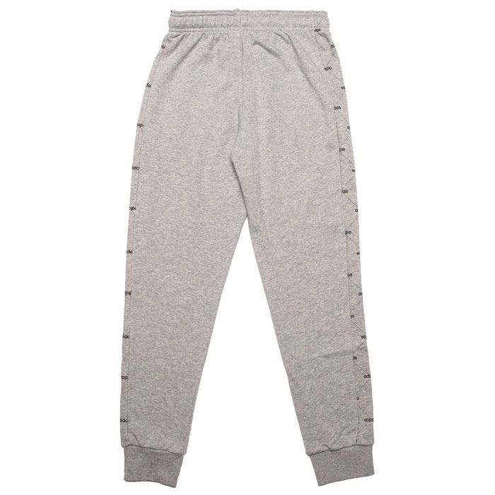 Boy's adidas Junior Motion Allover Jog Pants in Grey