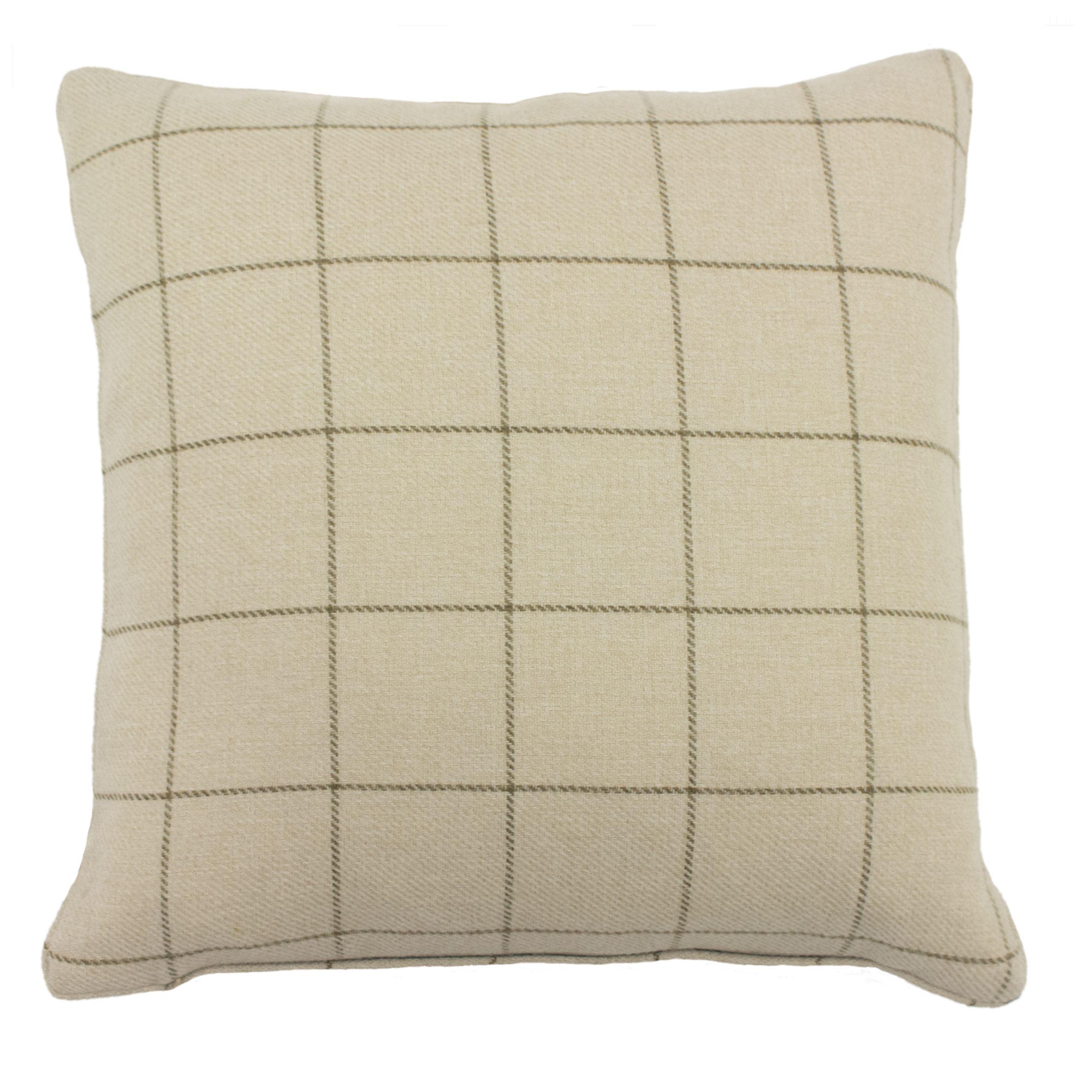 Ellis 45X45 Poly Cushion Natural