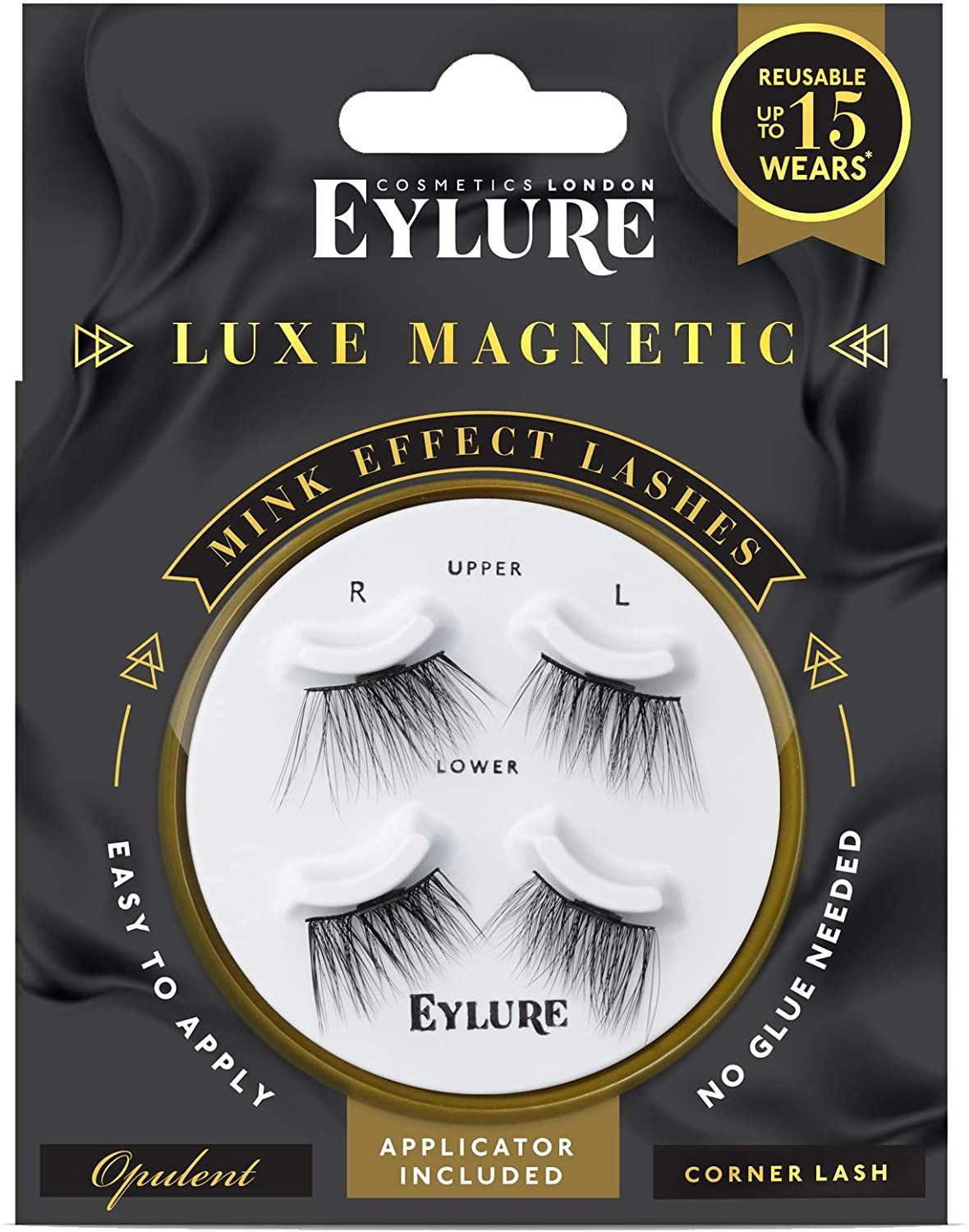 Eylure Luxe Magnetic Mink Effect Lashes - Opulent Effect