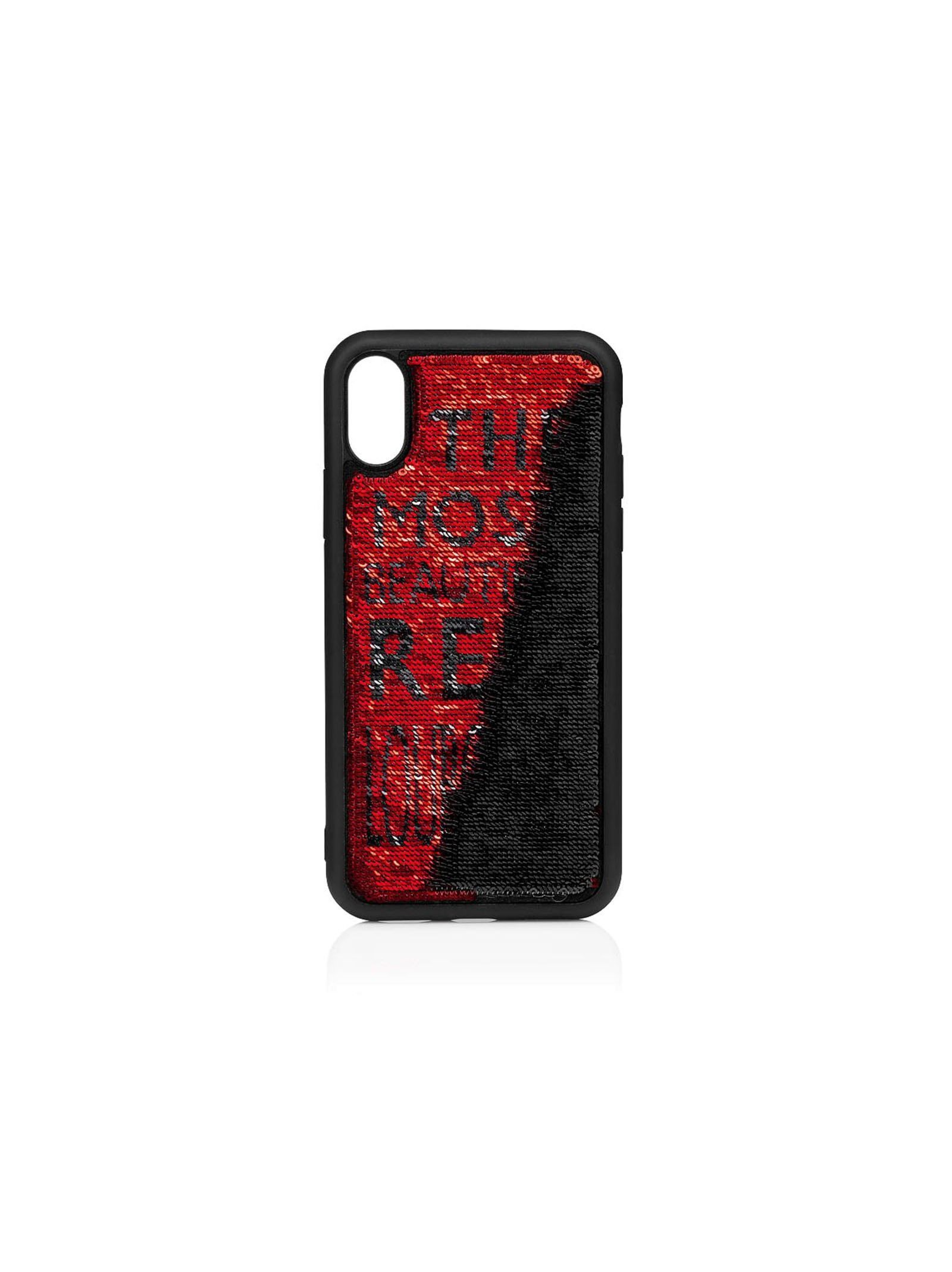 CHRISTIAN LOUBOUTIN WOMEN'S 1205088H701 RED SEQUINS COVER