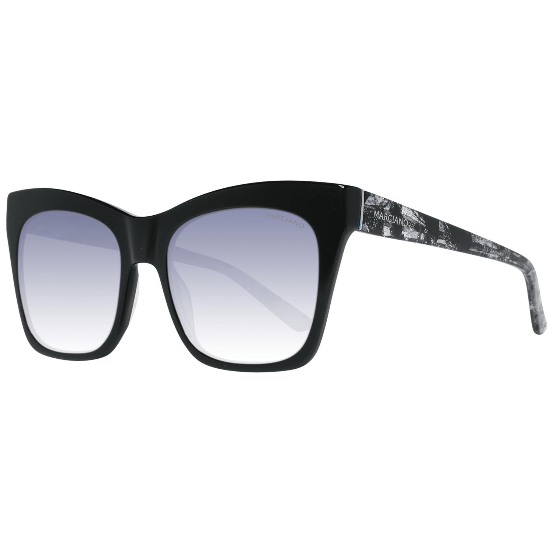 Swarovski Sunglasses SK0155 90W 55 Women Black