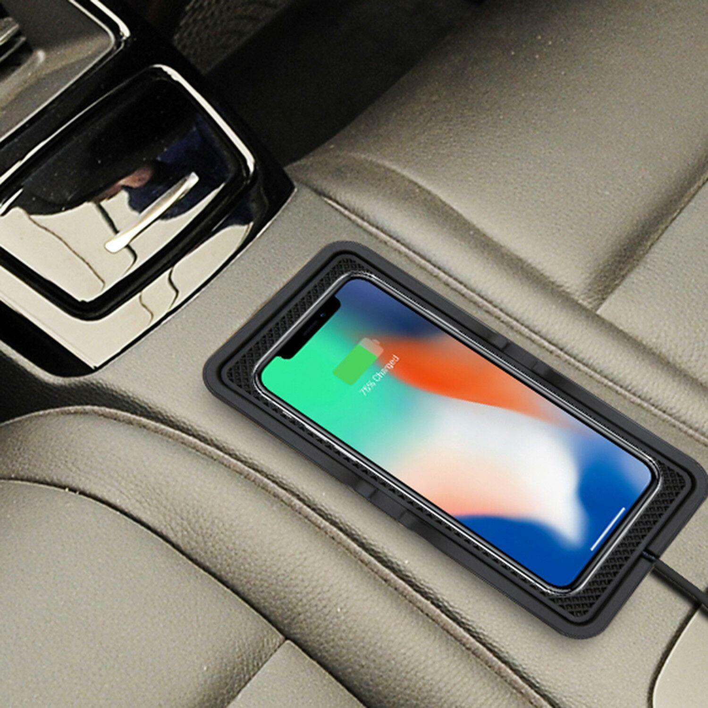 Powerz Universal Car Charging Non Slip Pad for Smart Phones Black