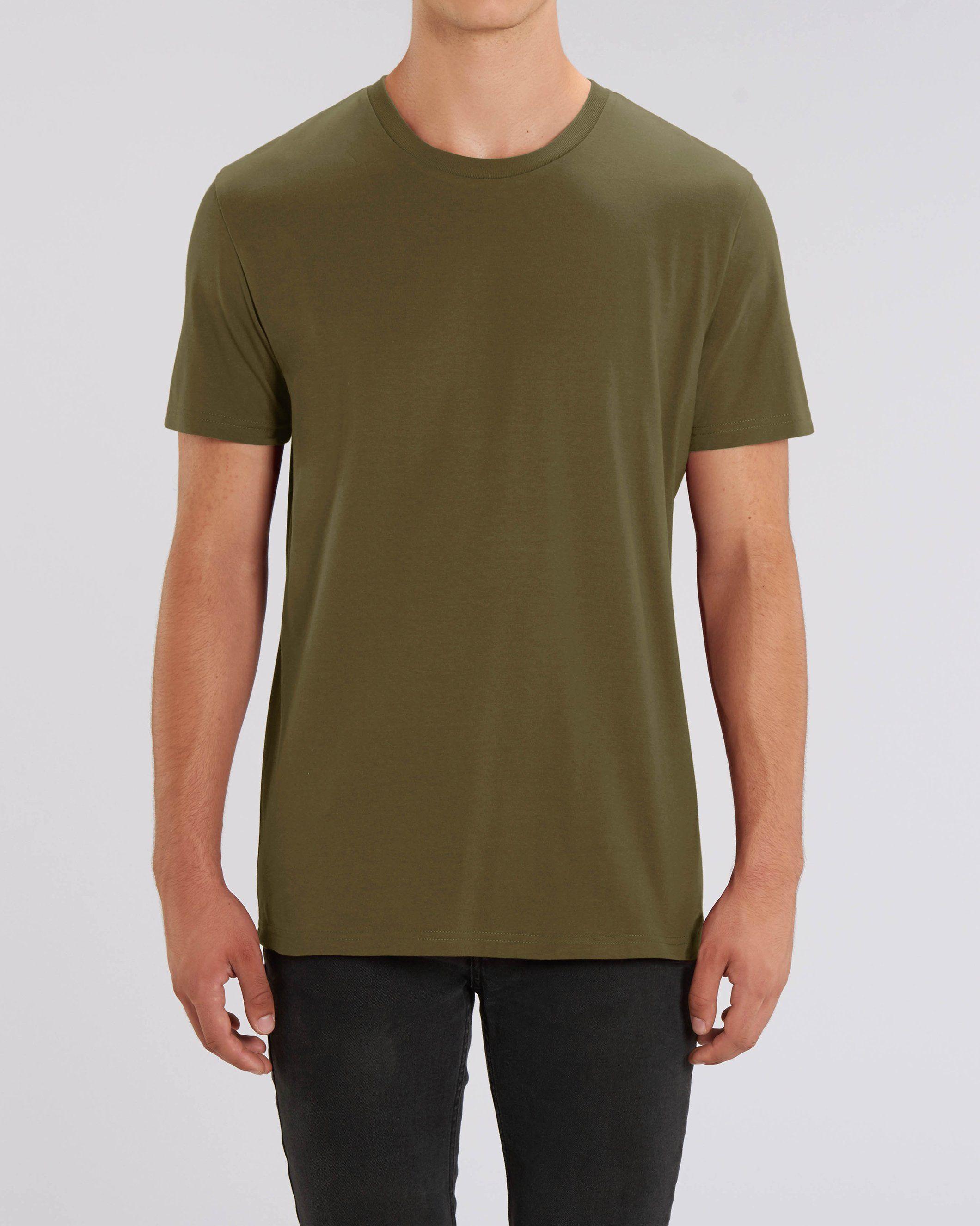 Nauli Unisex Regular Fit T-Shirt in Khaki
