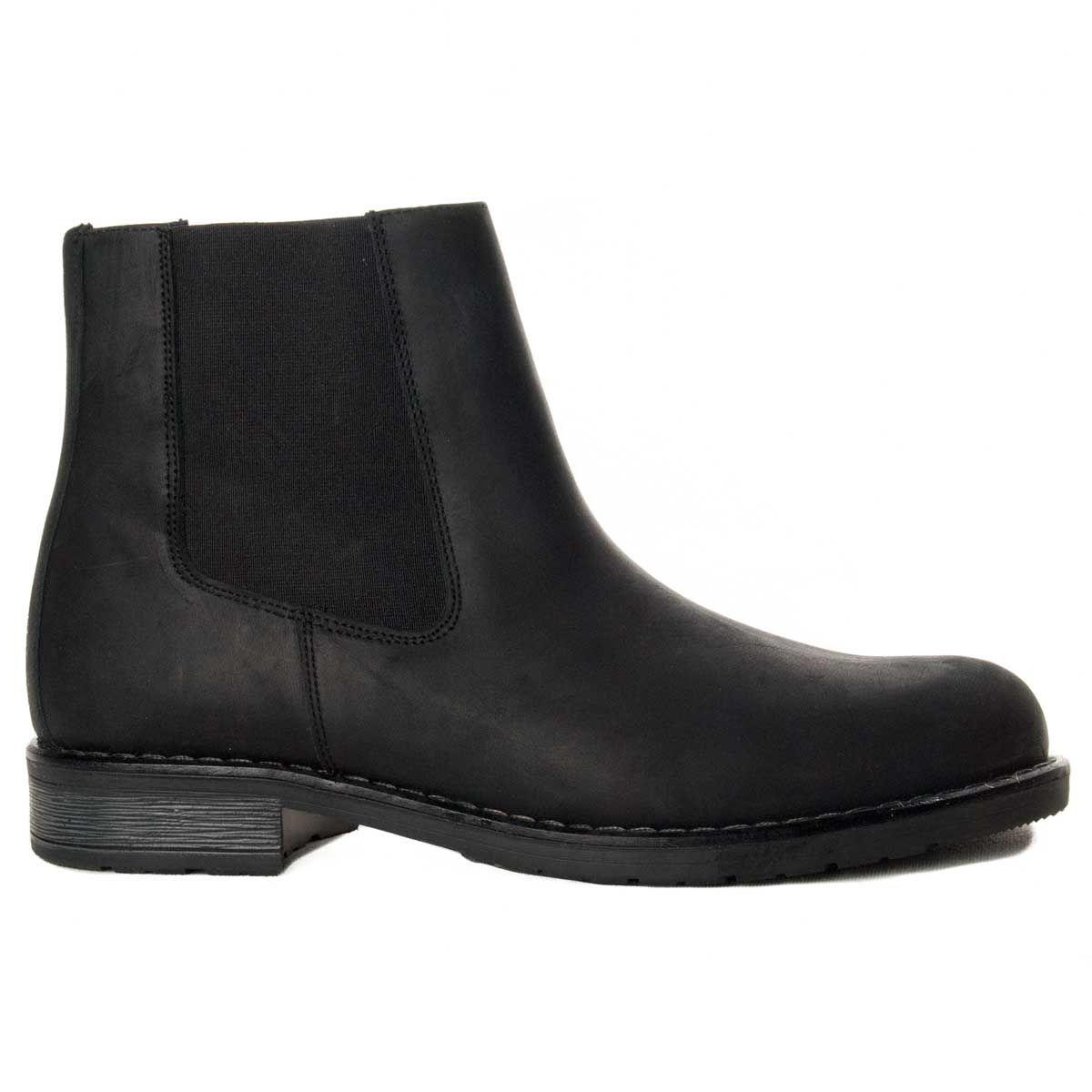 Purapiel Chelsea Boot in Black