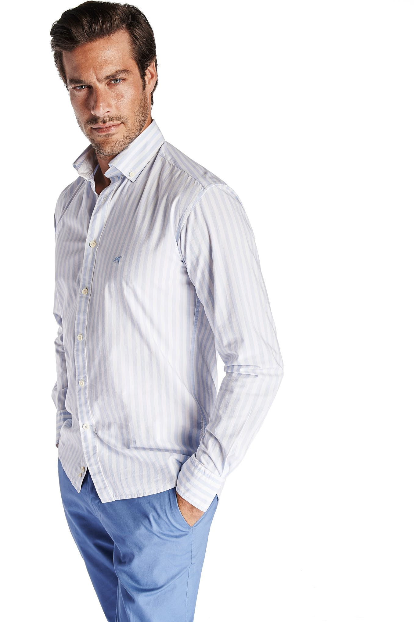 Men s Slim Fit Sport Shirt