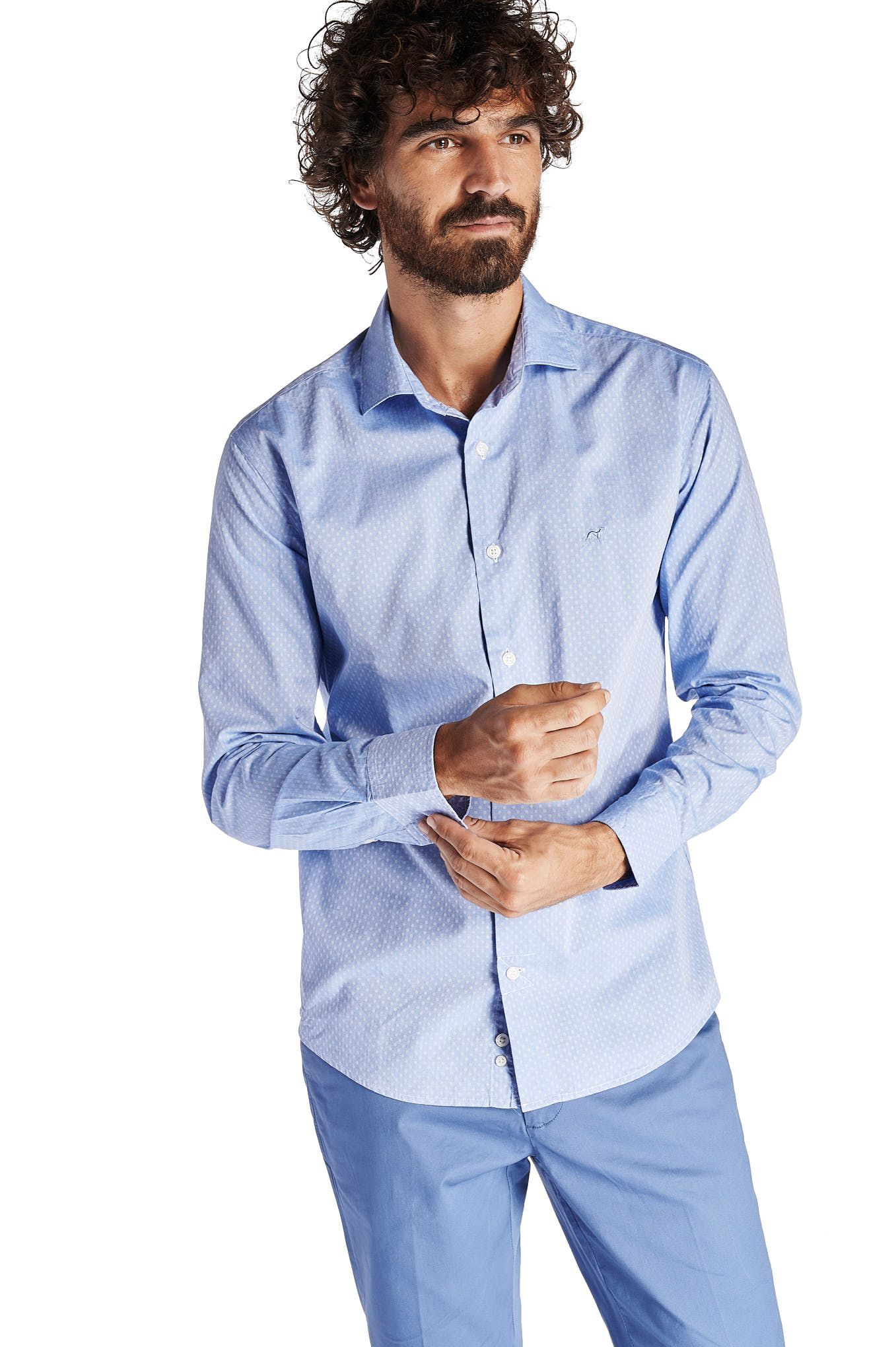 Men  Sport Regular Slim Shirt