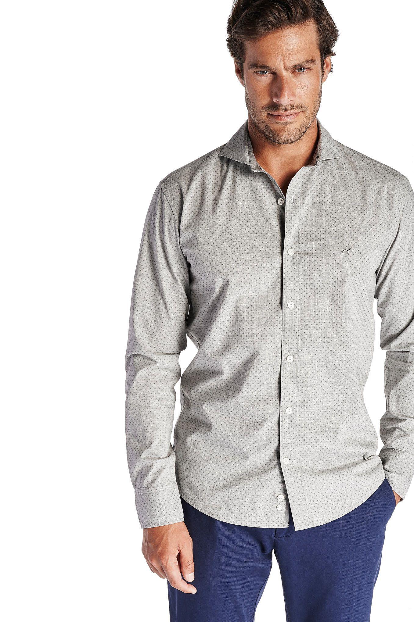 Men s Casual Slim Fit Shirt