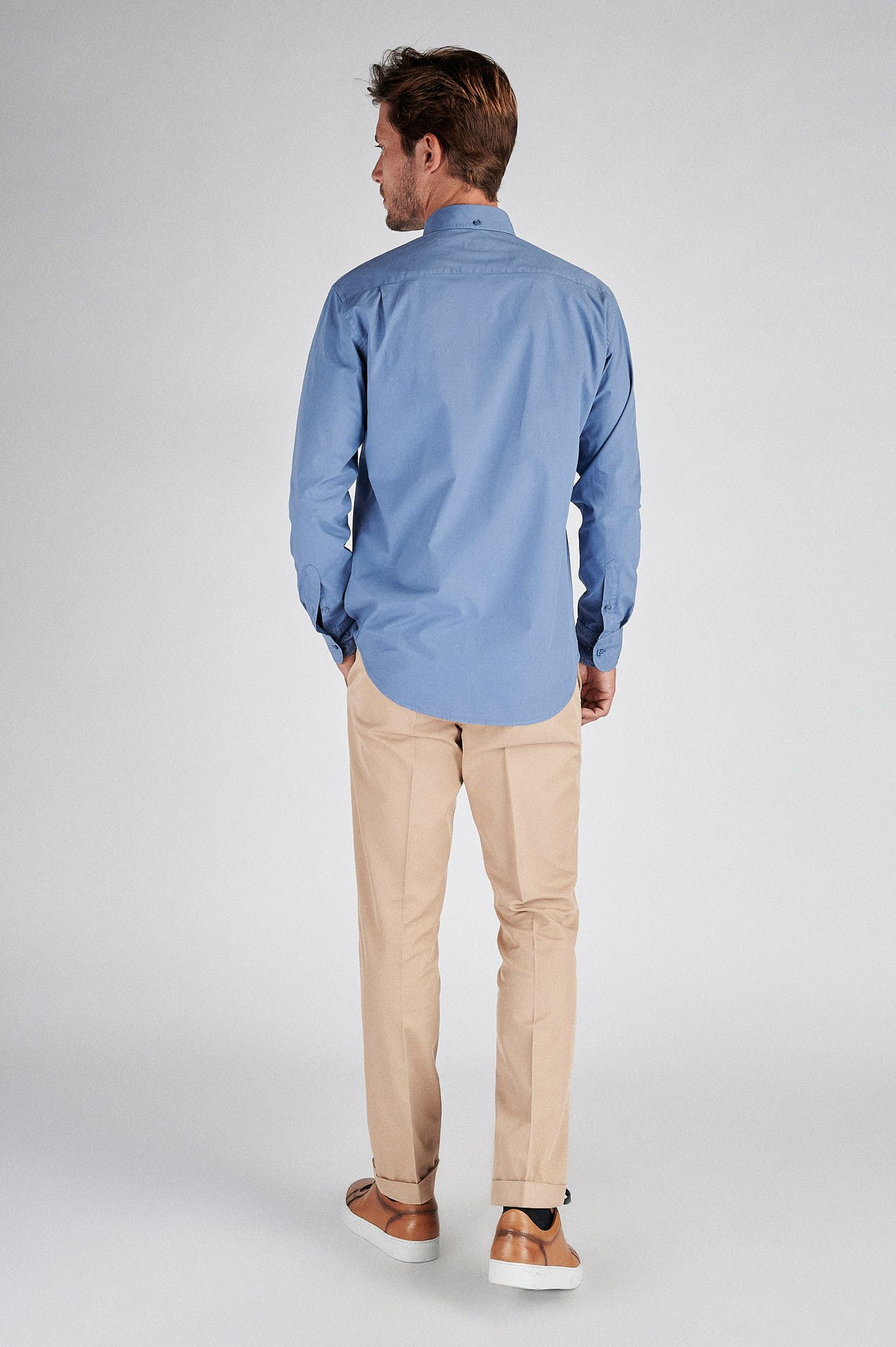 Men s Sport Slim Fit Chino Trousers