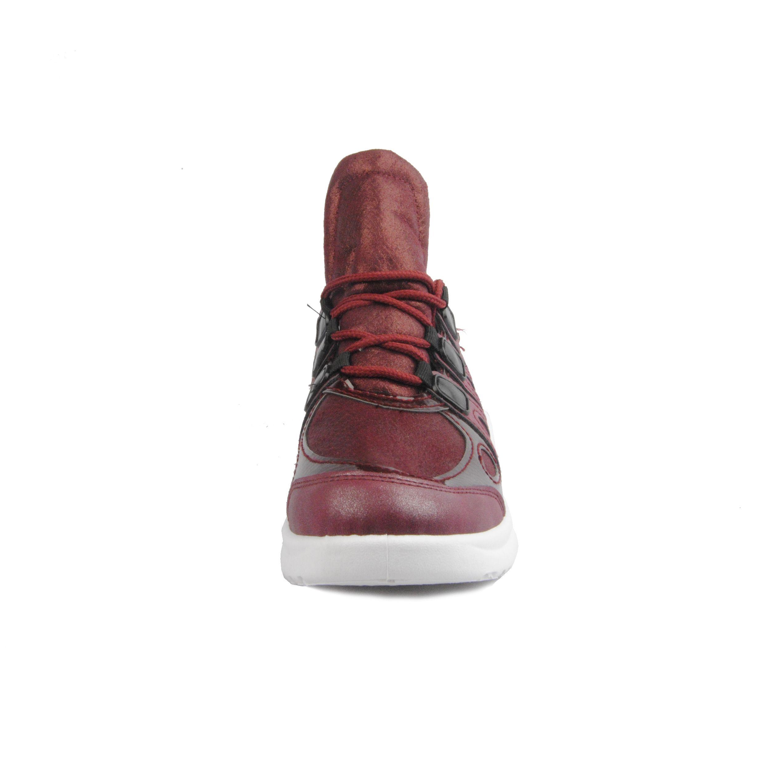 Montevita Sporty Sneaker in Bordo