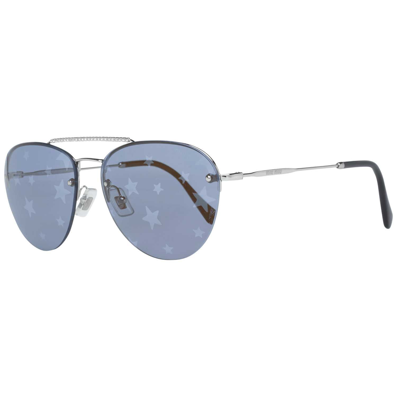 Miu Miu Silber Frauen Sonnenbrille