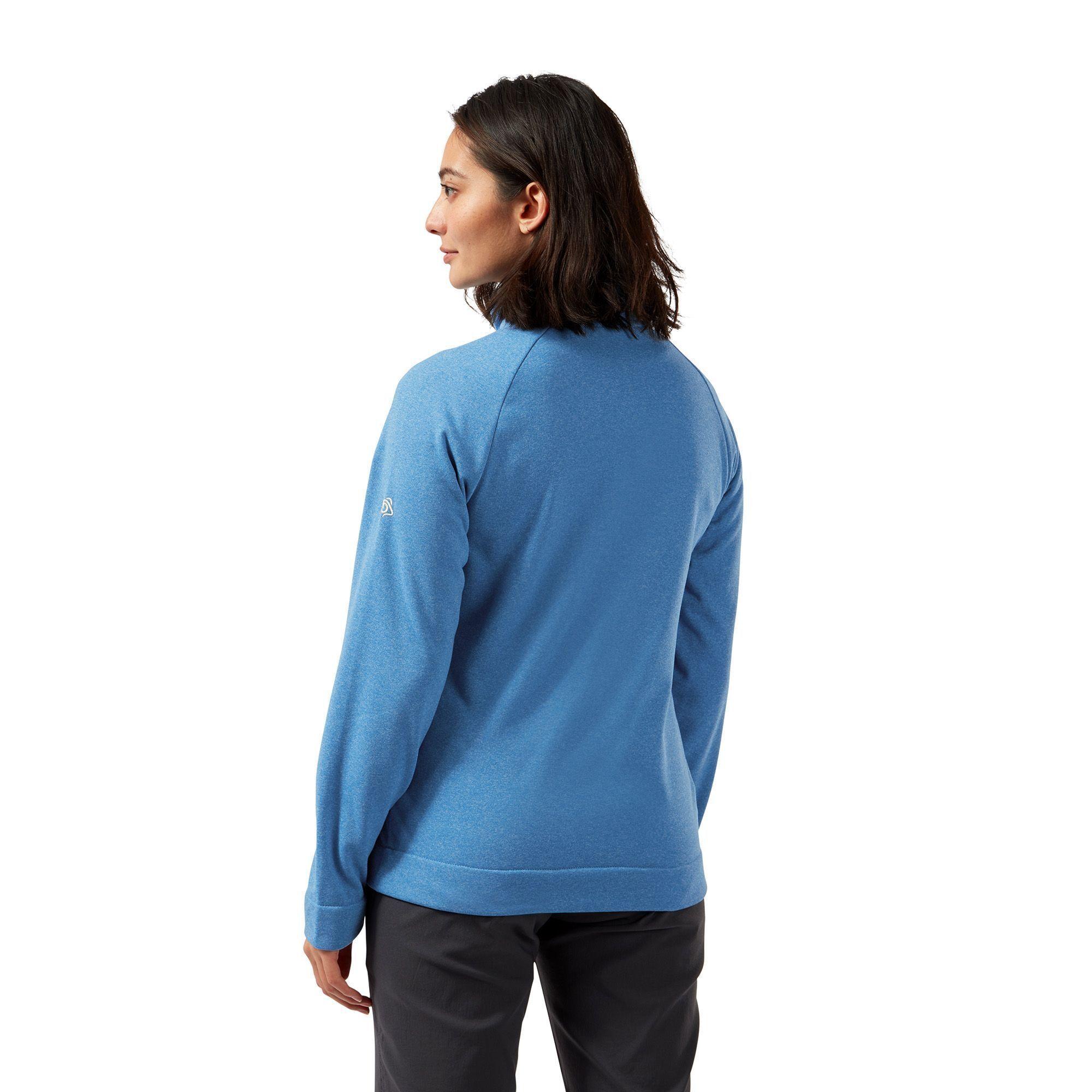 Craghoppers Womens/Ladies Helena Half Zip Fleece Top (Mediterranean Blue)