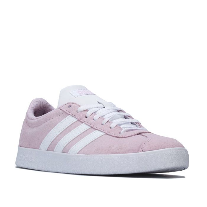 Women's adidas VL Court Trainers in Pink
