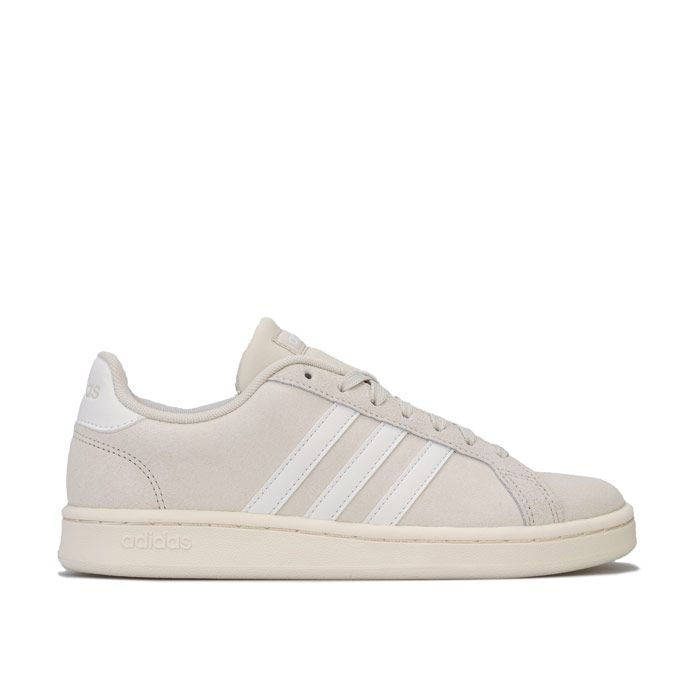 Women's adidas Grand Court Trainers in Off White