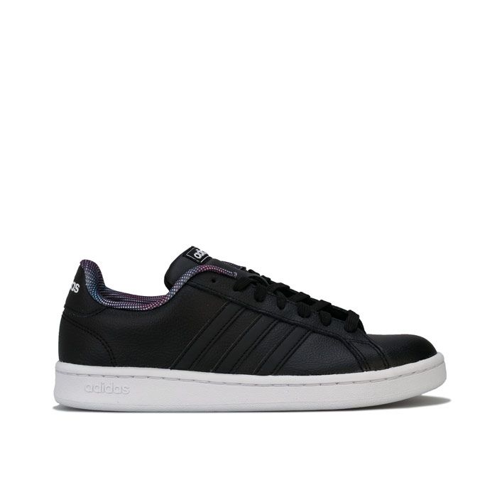 Women's adidas Grand Court Trainers in Black
