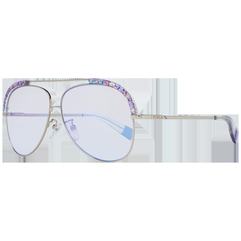 Furla Silber Frauen Sonnenbrille