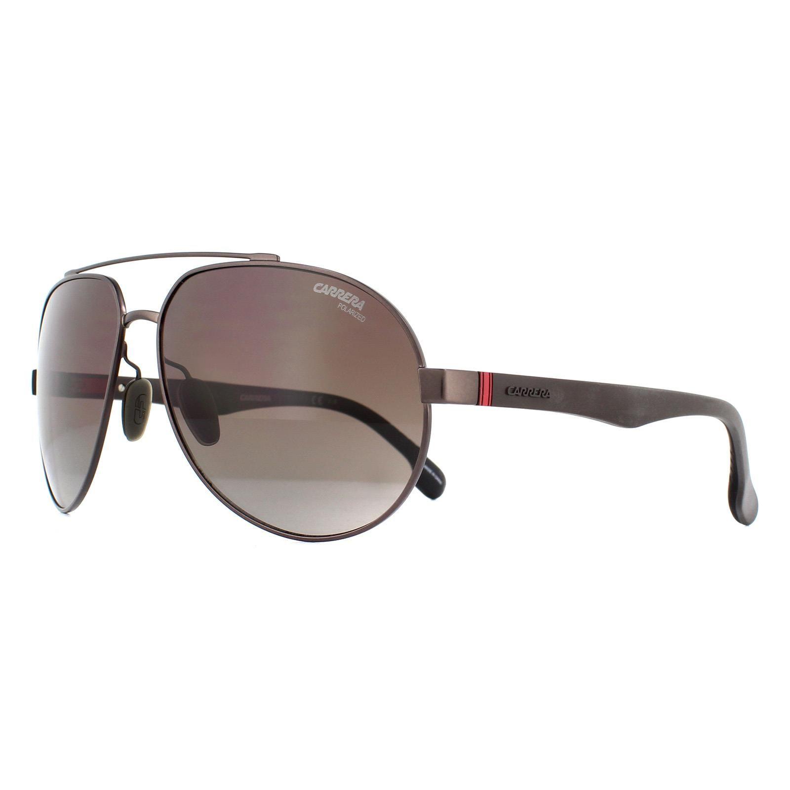 Carrera Sunglasses 8025/S YZ4 Matte Brown Brown Gradient