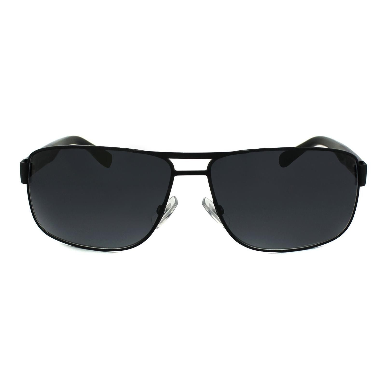Hugo Boss Sunglasses 0668 10G HD Matt Black Grey Gradient