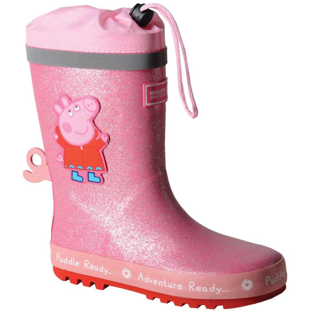 Regatta Boys & Girls Peppa Pig Puddle Wellington Boots