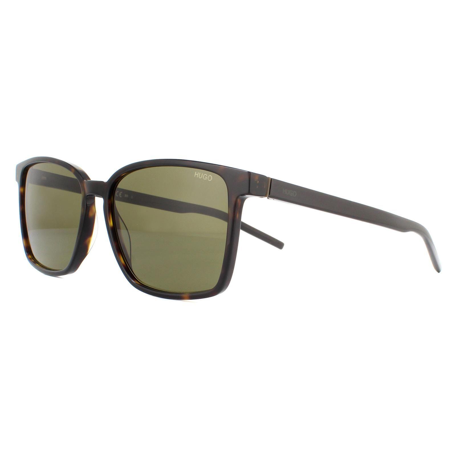 Hugo by Hugo Boss Sunglasses HG1128/S 086/QT Havana Green