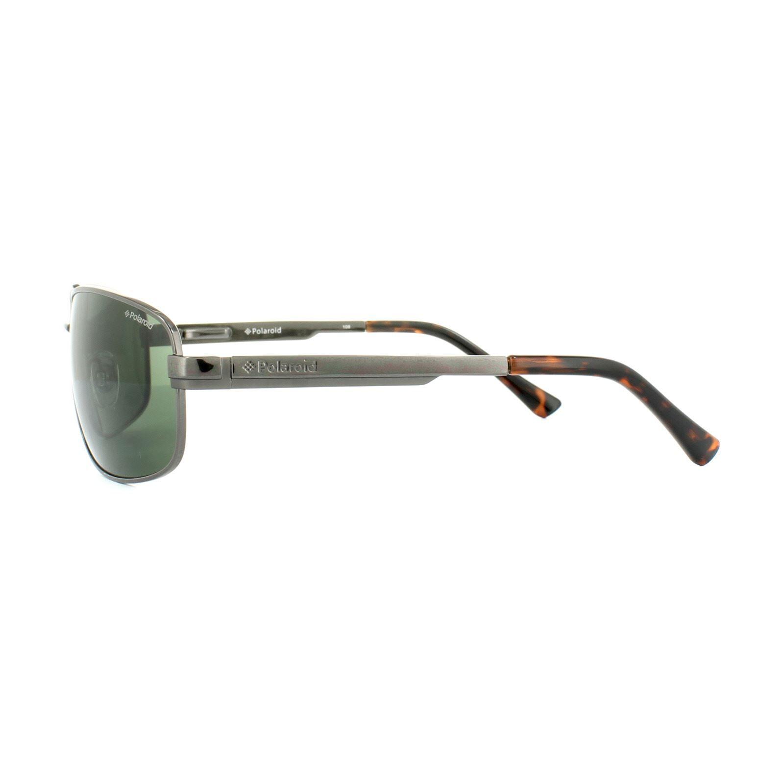 Polaroid Sunglasses P4314 KIH RC Black Green Polarized