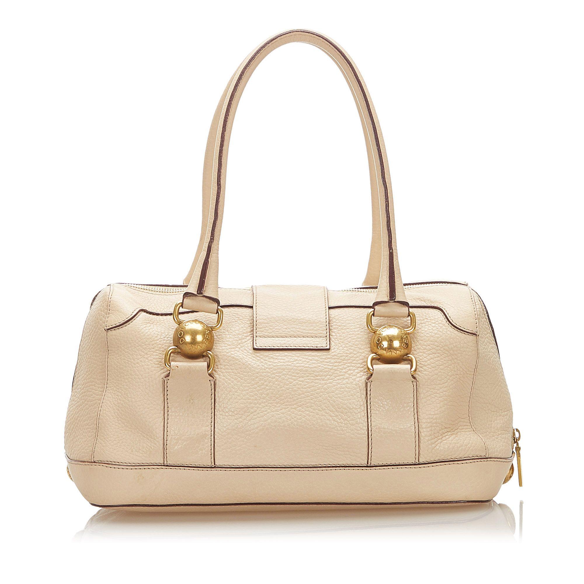 Vintage Dolce&Gabbana Leather Handbag Brown