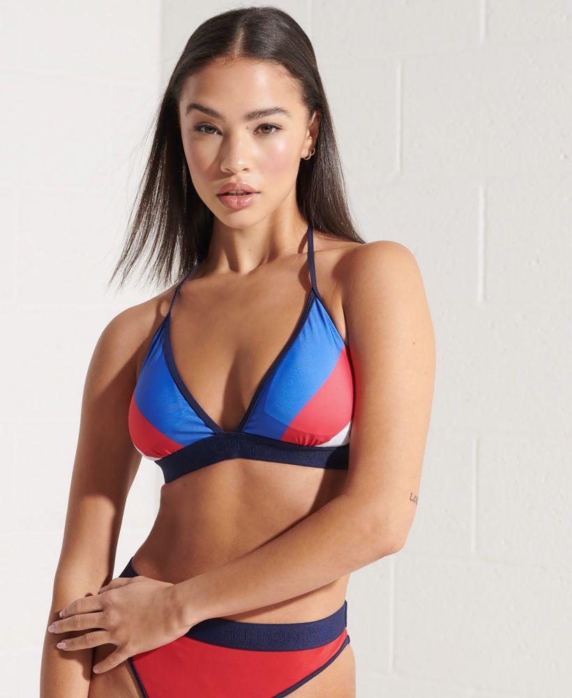 Superdry Sport Fixed Tri Bikini Top