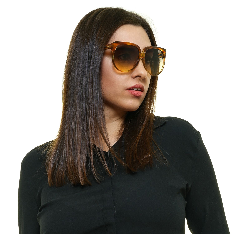 Celine Sunglasses CL40048F 56B 63 Women Brown
