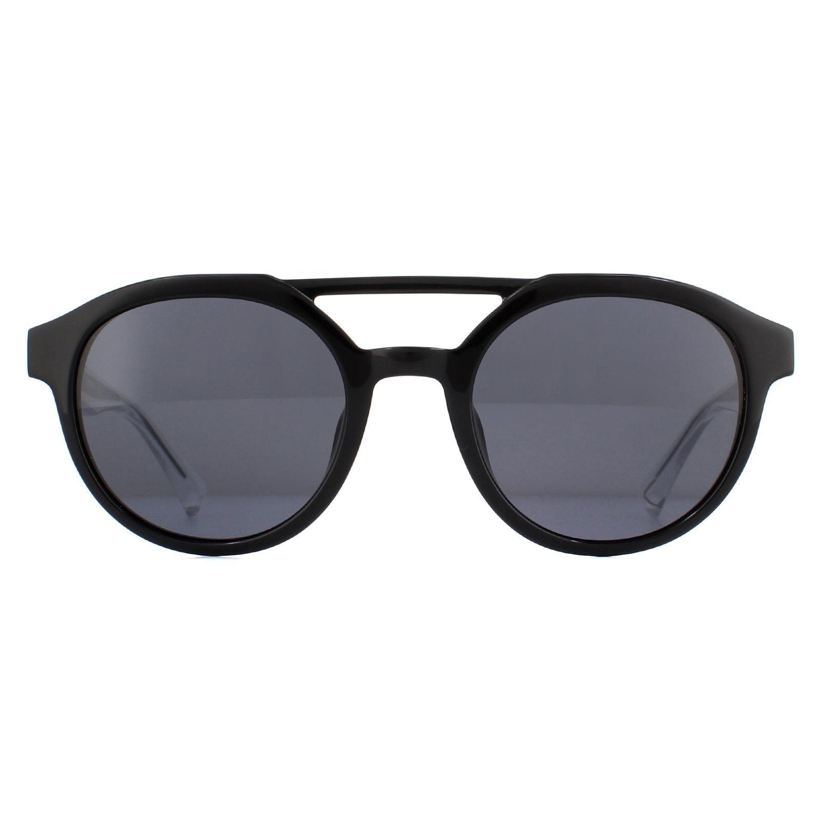 Diesel Sunglasses DL0280 01A Black Crystal Grey
