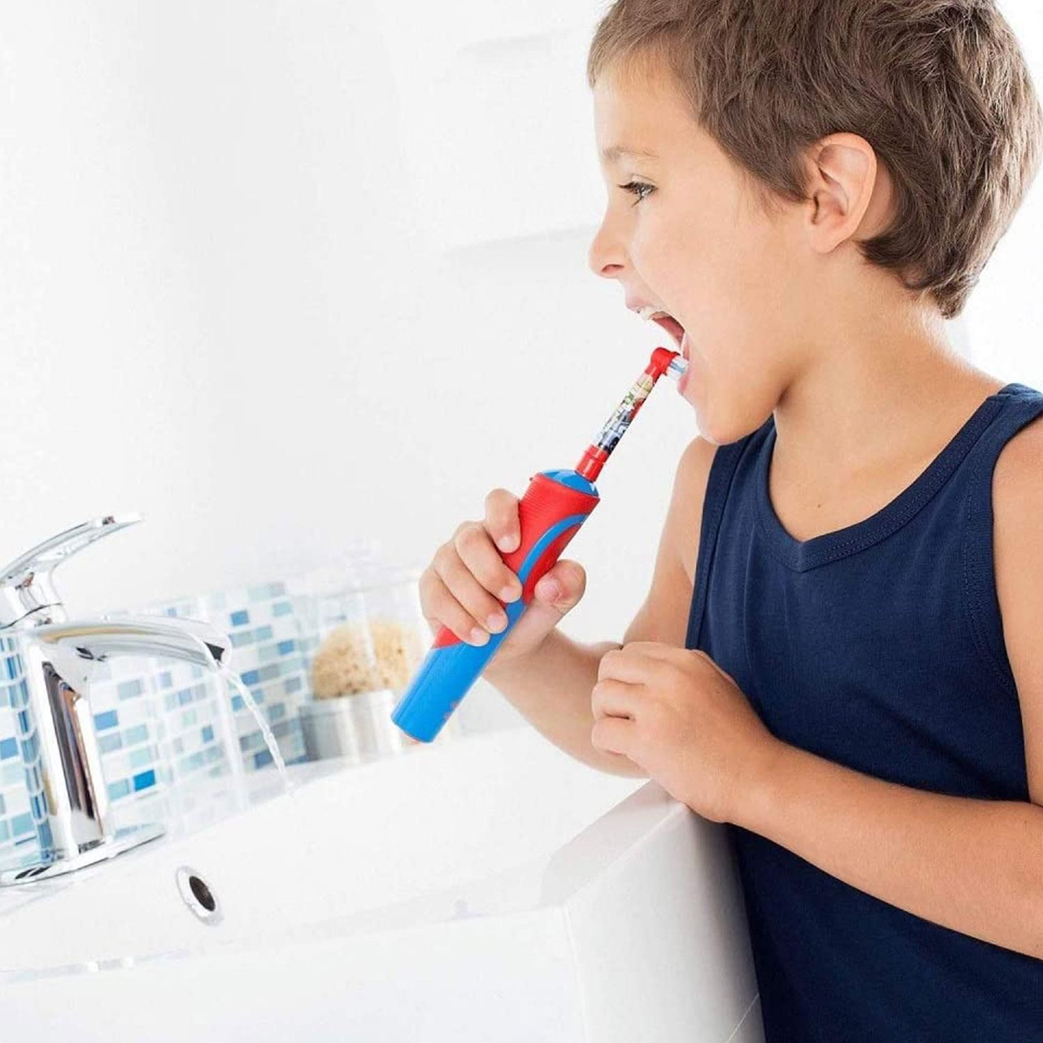 Oral-B Stages Power Kids Toothbrush Replacement, 4 Refills (Assorted)