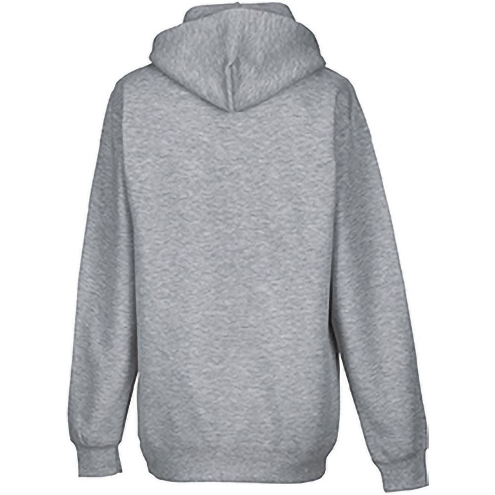 Russell Colour Mens Hooded Sweatshirt / Hoodie (Light Oxford)