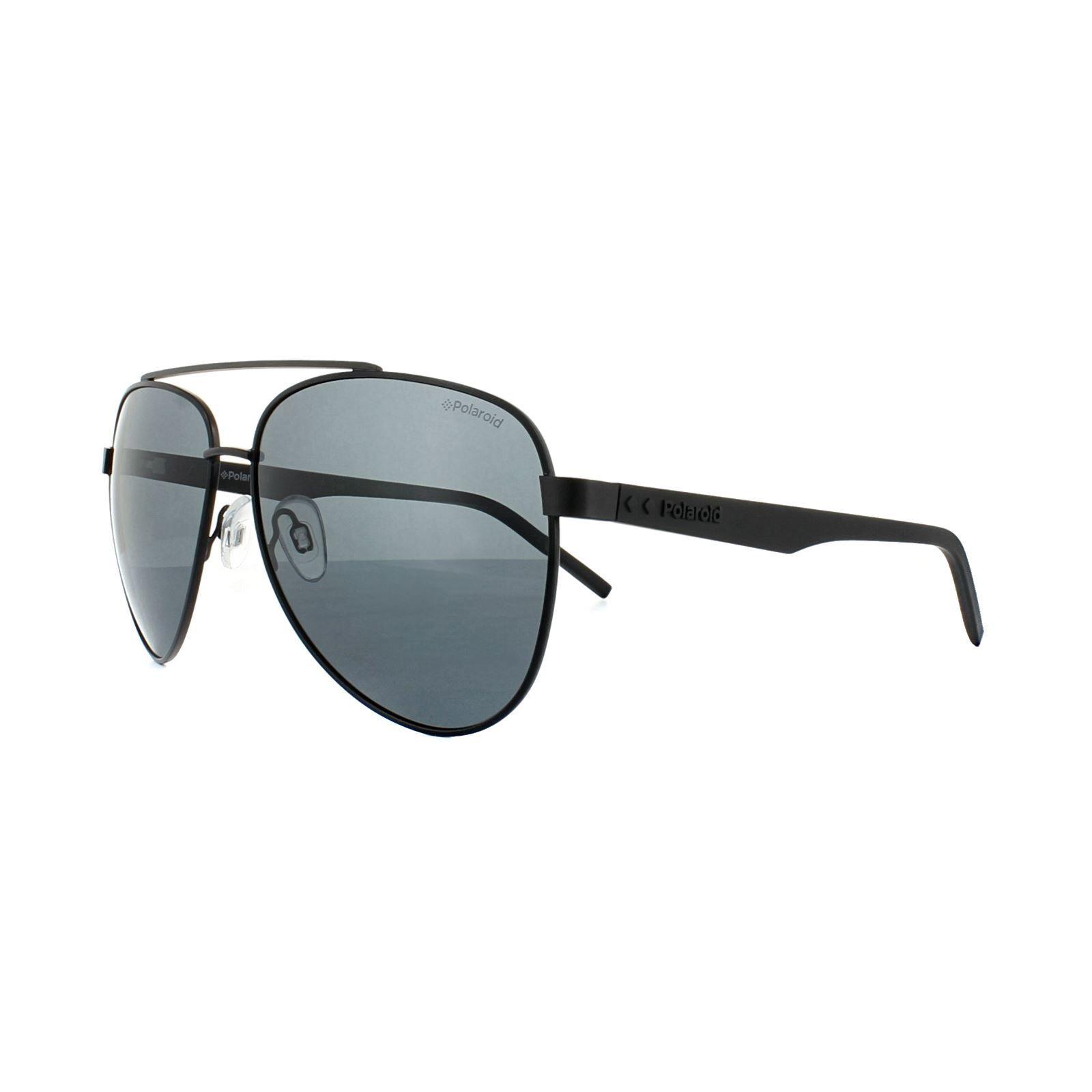 Polaroid Sunglasses PLD 2043/S 807 M9 Black Grey Polarized
